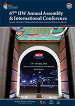 67th IIW Annual Assembly & International Conference