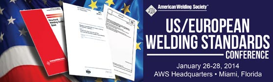 US/European Welding Standards Conference