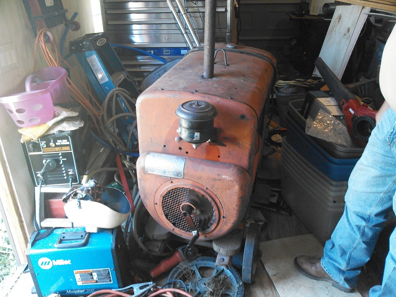 Any Info On This Odd Welding Machine