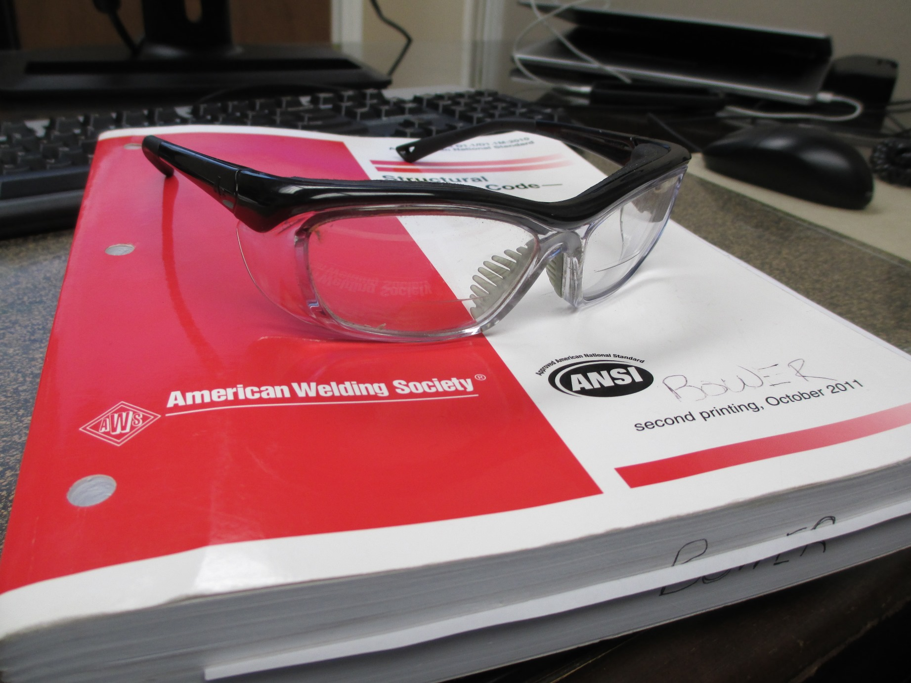 prescription eye glass frames for welders??