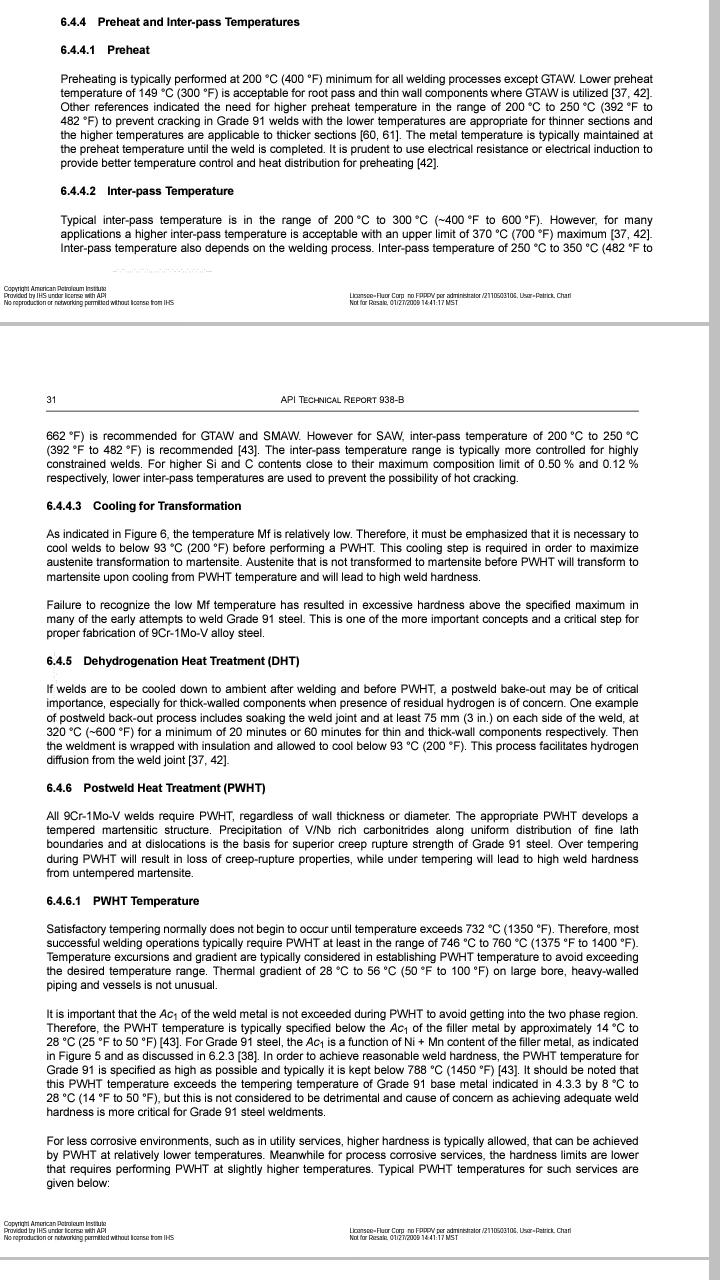 Intermediate Heat Treatment In B311 2014 Pwht Wiring Diagram Parent