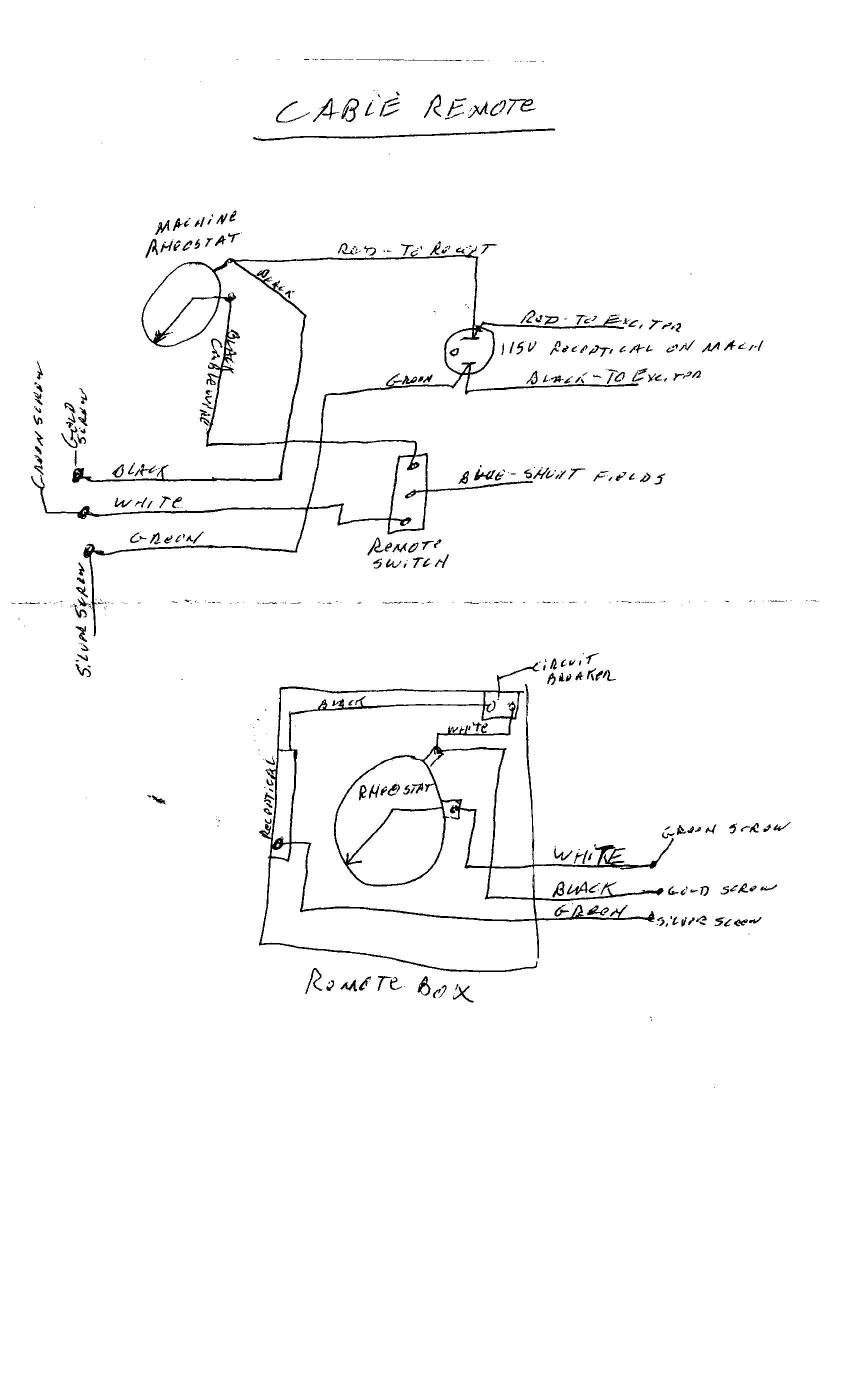 Lincoln Sa 200 Remote Wiring Diagram   36 Wiring Diagram